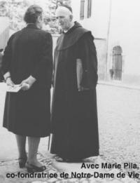 Padre Maria-Eugenio e Maria Pila