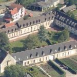 Abbaye-vue aérienne