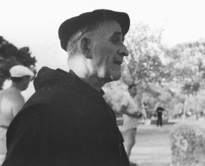 Père Marie-Eugène à St Rémy en 1958
