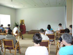 Notre-Dame de Vie Saint Paul salle de conférence