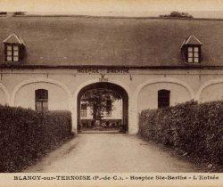 Abbaye-Entrée de l'hospice