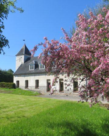Abbaye-L'aile Est avec la chapelle