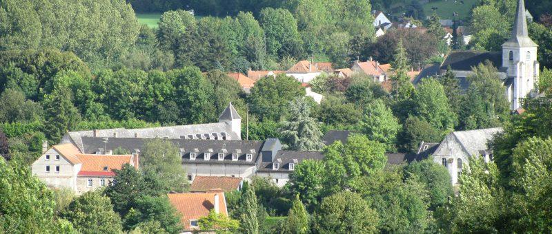 Abbaye – vue depuis le plateau