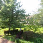 Abbaye-Cour intérieure vue de l'Aile Sud 2