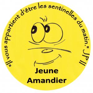 JA - Jeune Amandier Logo