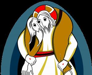 Père Marie-Eugène et Miséricode, logo