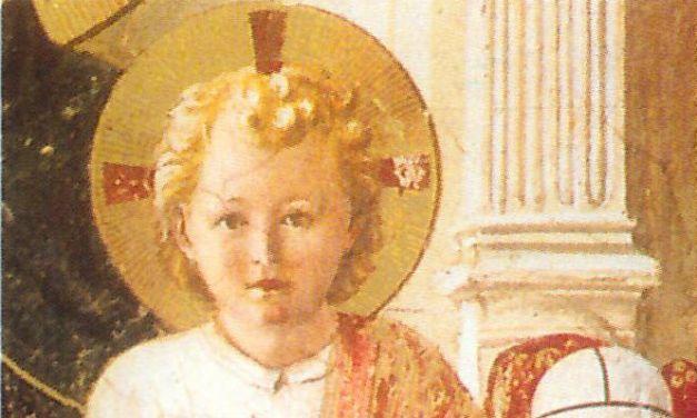 Les premiers pas de l'Enfant-Dieu