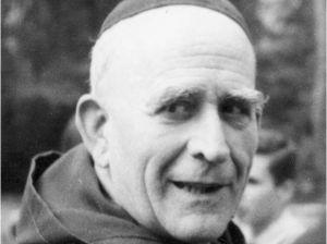 Père Marie-Eugène en 1963 à Notre-Dame de Vie