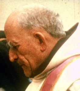 Père Marie-Eugène en 1966, vendredi saint
