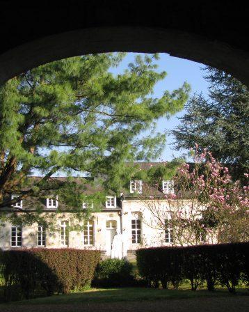 Abbaye – le porche