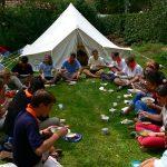 Camp ados en Provence jeune amandier