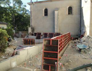 Le sanctuaire se prépare