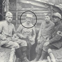 Henri Grialou en 1916, au camp St Robert / During the First Wolrd War