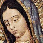 Visage Vierge Guadalupe Mexique