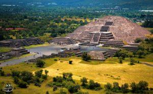 Site de Teotihuacan Mexique