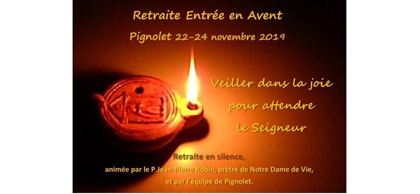 Retraite Avent 2019 Pignolet