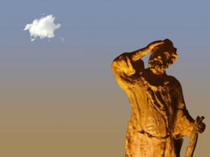 Elie et le petit nuage annonciateur...