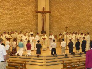 Profession des conseils évangéliques - vie consacrée