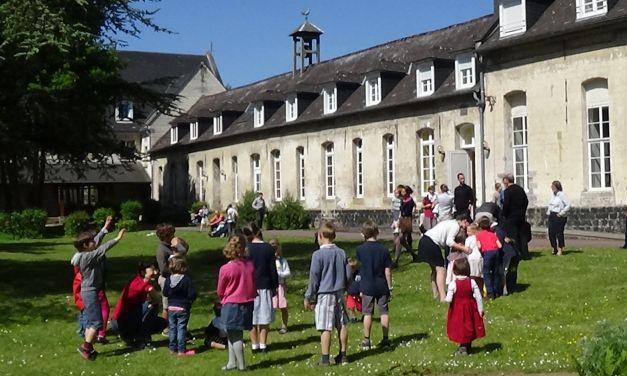 Accueil Abbaye sainte Berthe