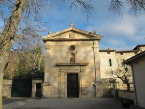 Cappella di Nostra-Signora della Vita - facciata