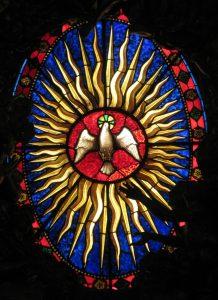 Esprit Saint à l'église Saint Siffrein