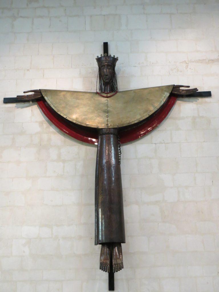 Abbaye - Christ de la chapelle (Lambert-Rucki)