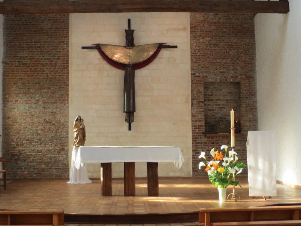 Abbaye-le choeur de la chapelle