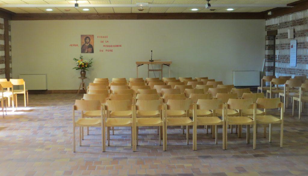 Abbaye-Salle de conférence