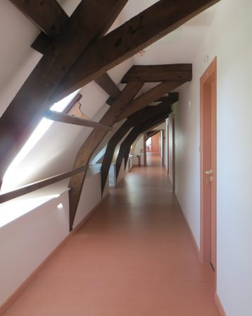 Abbaye-Couloir Aile Sud