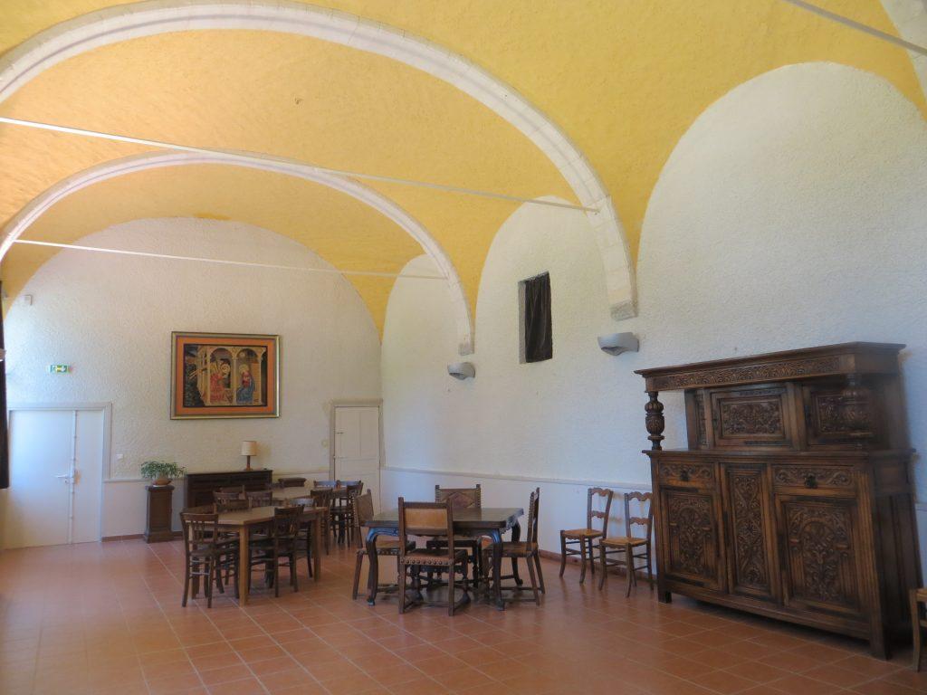 Abbaye-Salle voutée