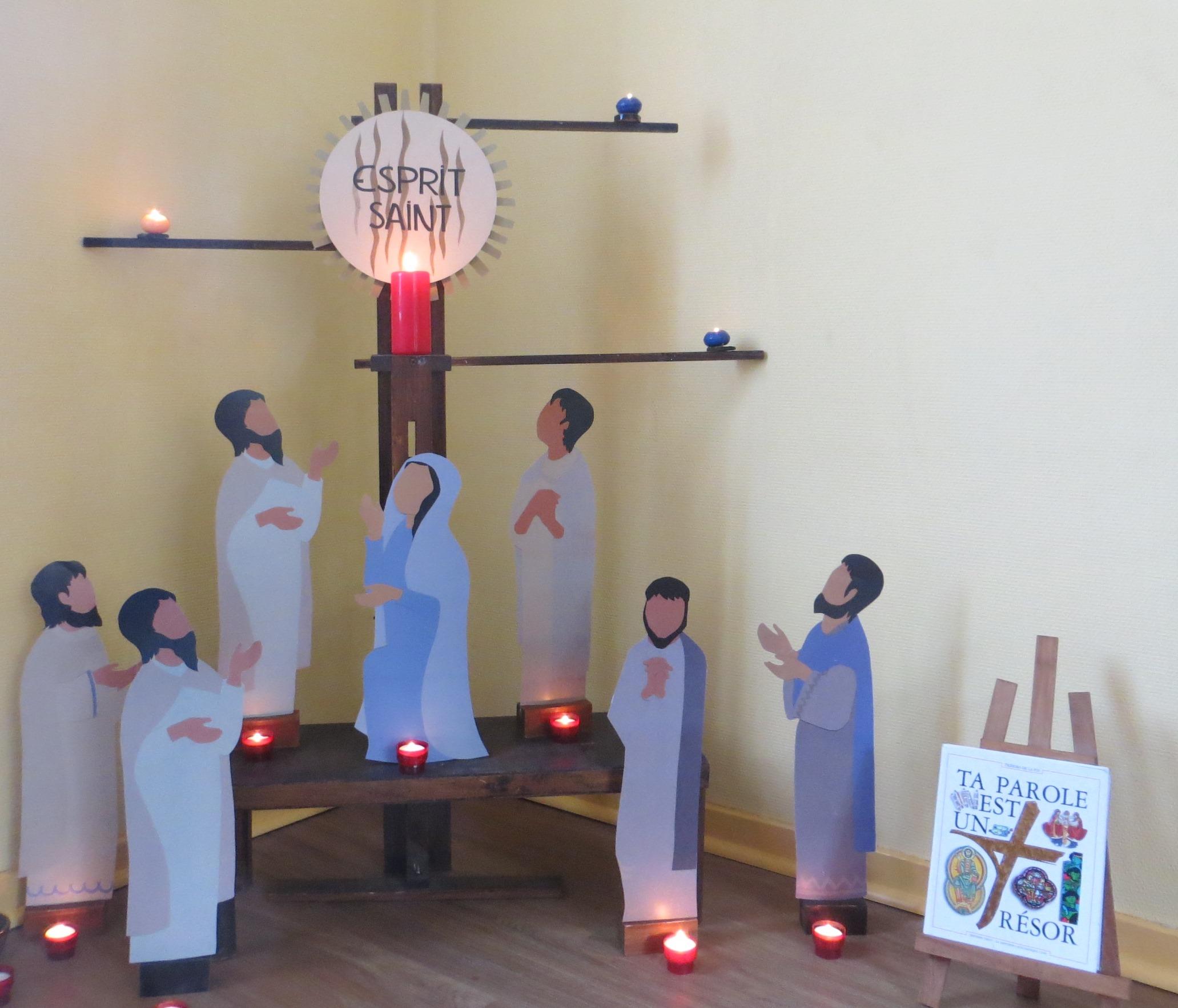 Abbaye-Catéchèse sur l'Esprit Saint