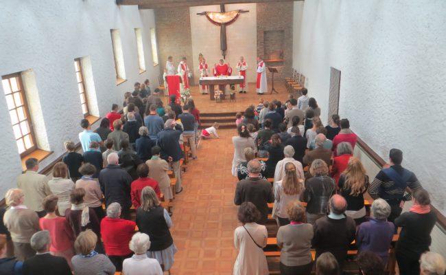 Abbaye-Pentecote 2016-messe du jour