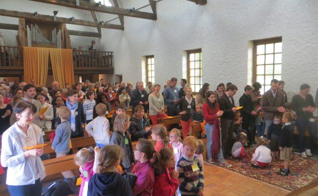 Abbaye-Pentecote 2016-messe