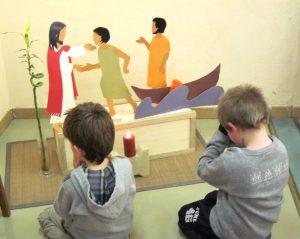 prière des enfants