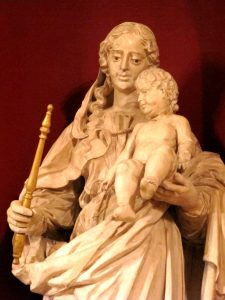 Notre Dame de Vie, Our Lady of Life, statue from the shrine