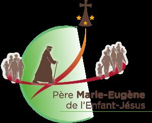 Logo officiel pour la béatification du Père Marie-Eugène