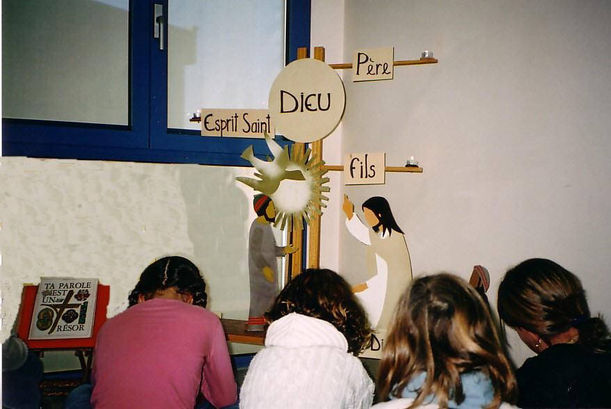 Notre-Dame de Vie Catéchèse et coin prière