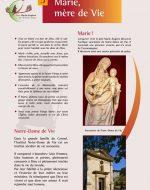 Expo 2017 – Panneau 5 – Marie, Mère de Vie