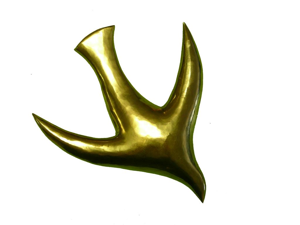 Esprit Saint - détail de la châsse du reliquaire du P Marie-Eugène - V1
