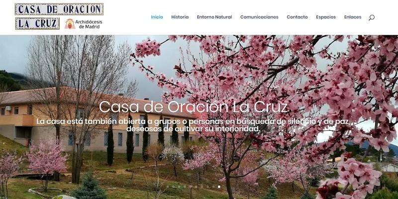 La casa de oración La Cruz estrena página web