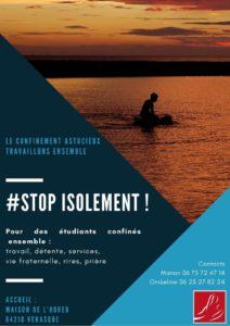 Stop isolement étudiants ensemble