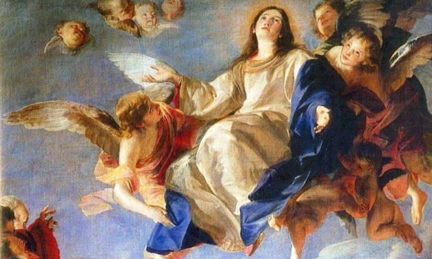 En la fiesta de la Virgen
