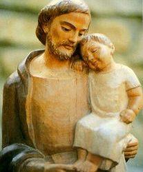 San José y el P. María Eugenio
