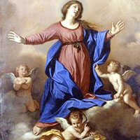 ¡Feliz fiesta de la Asunción de la Virgen!